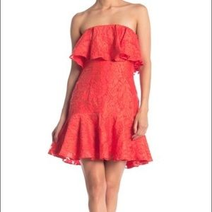 Keepsake the Label Radar Strapless Dress